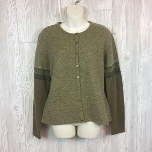 GAP Wool Cardigan Sz XL
